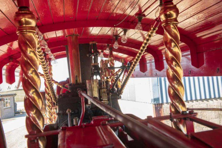 1932 Fowler 10HP B6 Showman's Road Locomotive Brass.
