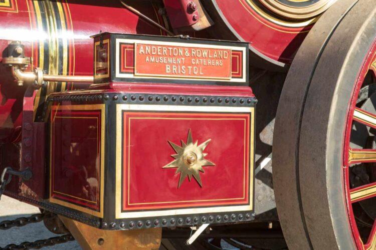 box of 1932 Fowler 10HP B6 Showman's Road Locomotive