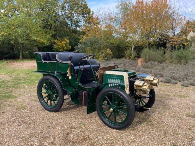 1901 Panhard Et Levassor Type A2 7HP Twin-Cylinder Rear Entrance Tonneau