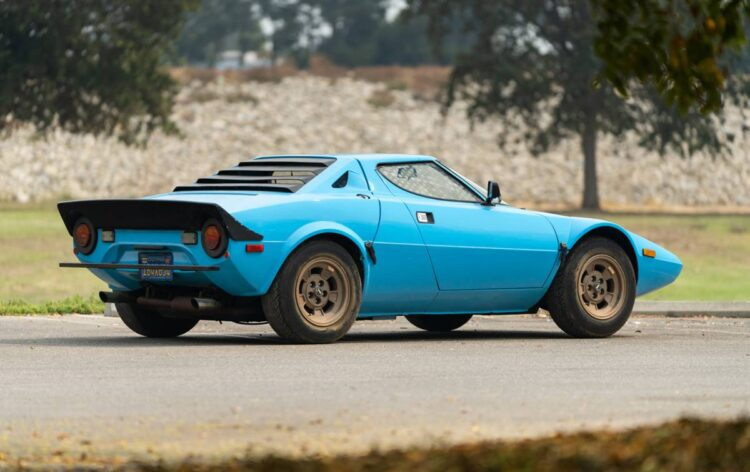 back of 1975 Lancia Stratos HF Stradale