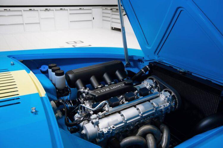 Engine of Cyan racing