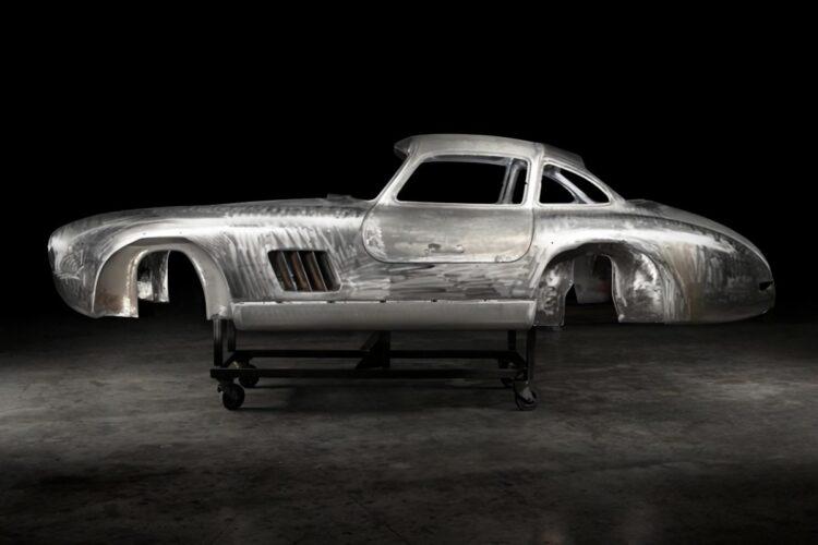 Body of  Mercedes 300SL