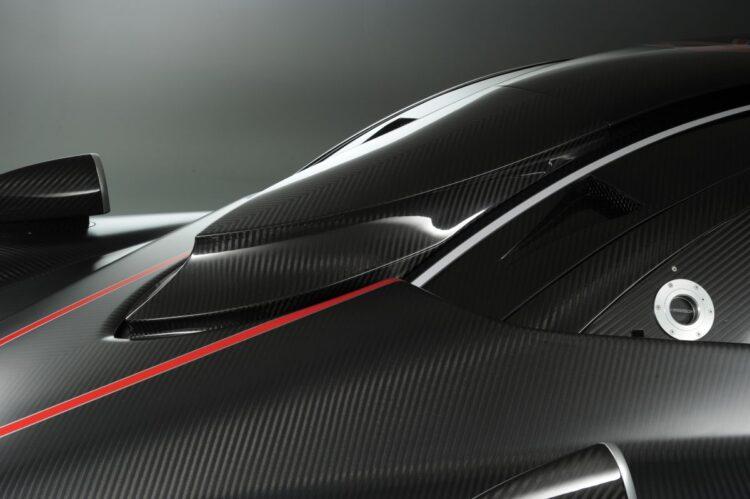 carbon fiber of zonda