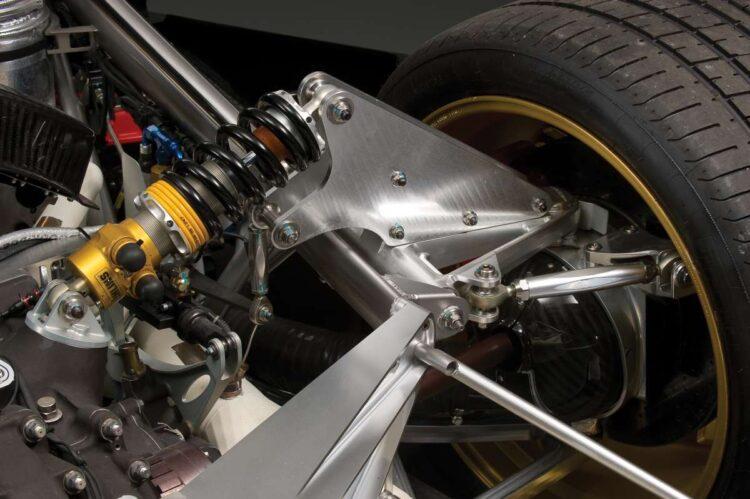 suspension of the Zonda R
