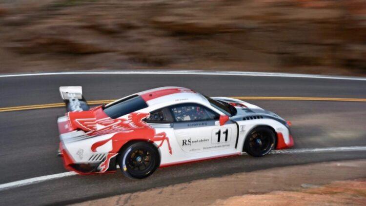 Jeff Zwart's Pikes Peak #11 Porsche 935-19
