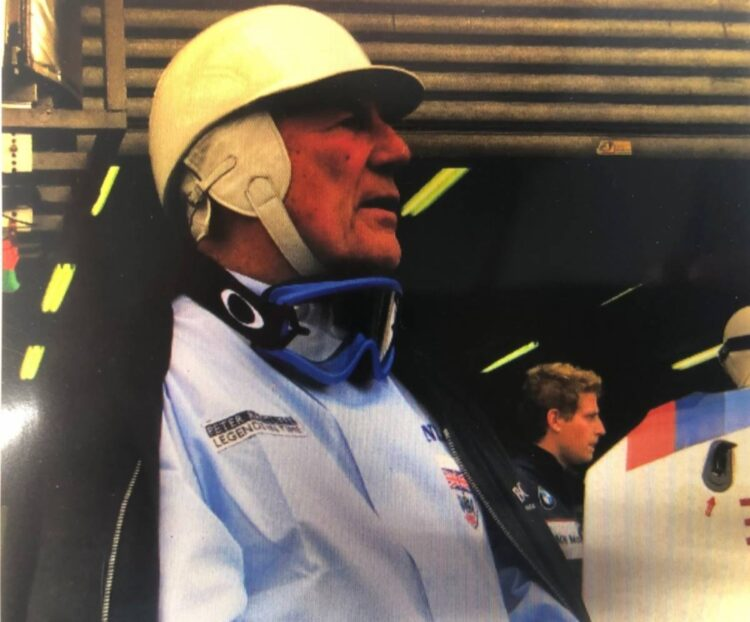 Stirling Moss in Race suit