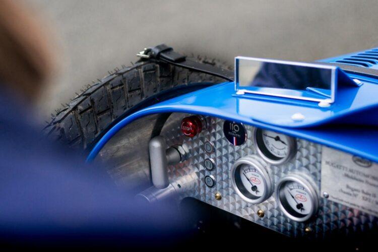 interior of the Bugatti Baby II