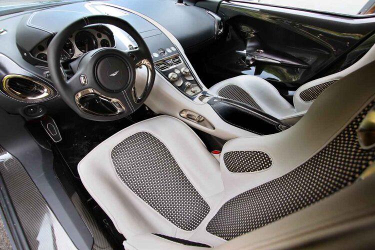 interior of Aston Martin One-77