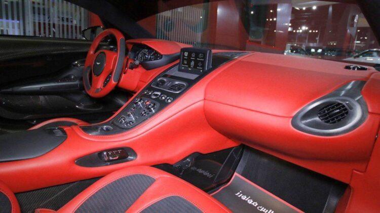 interior of Aston Martin One-77 Q-Series