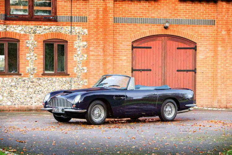 1967 Aston Martin DB6 Vantage Volante Convertible