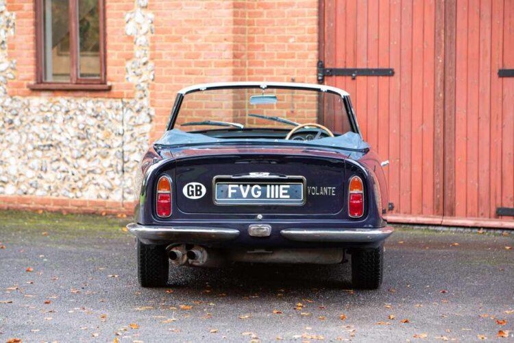 rear of 1967 Aston Martin DB6 Vantage Volante Convertible