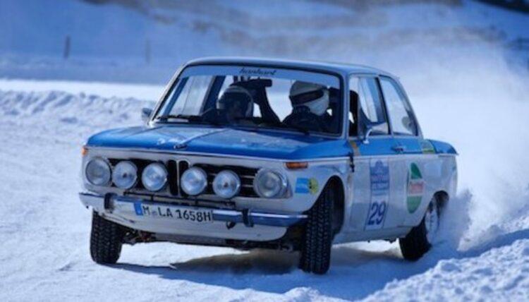 1969 BMW 2002 Ti Works Rally Car
