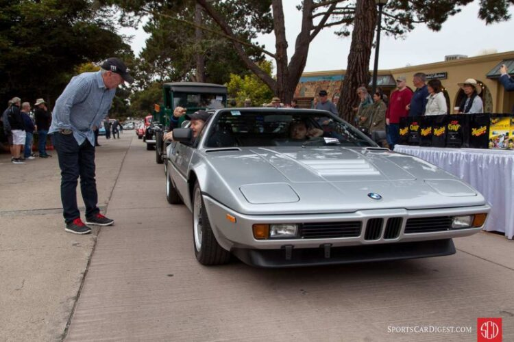 silver BMW M1
