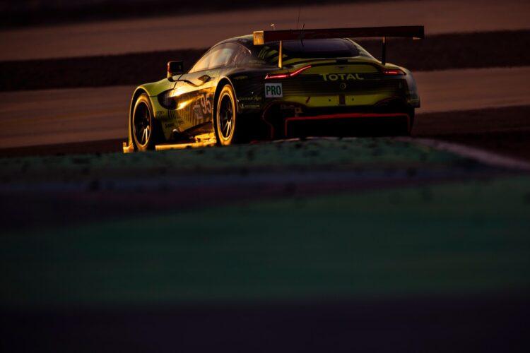 Racing with Aston Martin