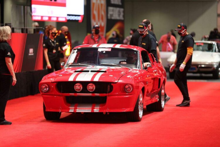 1968 Ford Mustang GT500CR Fastback