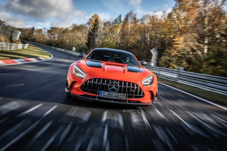 Nurburgring Nordschleife record