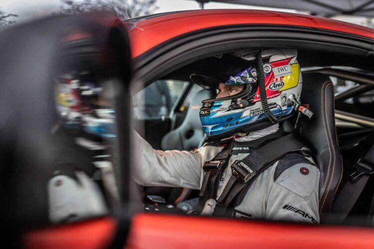 Maro Engel driving