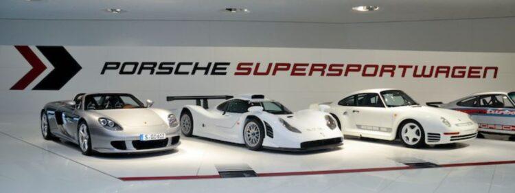 Porsche Carrera GT, 911 GT1 Evolution and 959 S