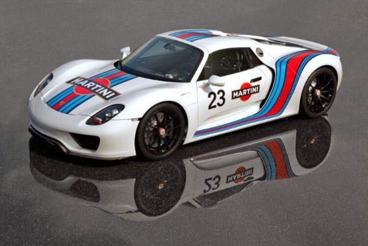 Martini Porsche 918 Spyder