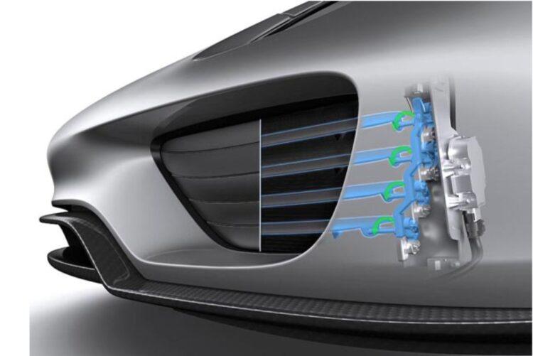 adjustable air intakes