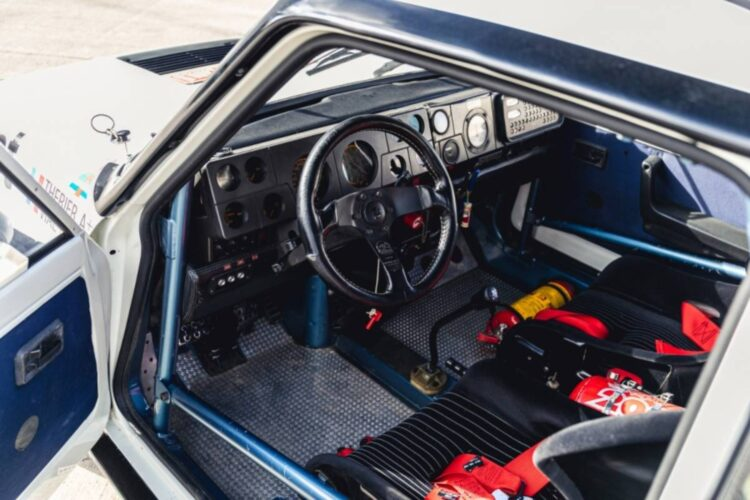 interior of 1982 Renault 5 Turbo Group 4