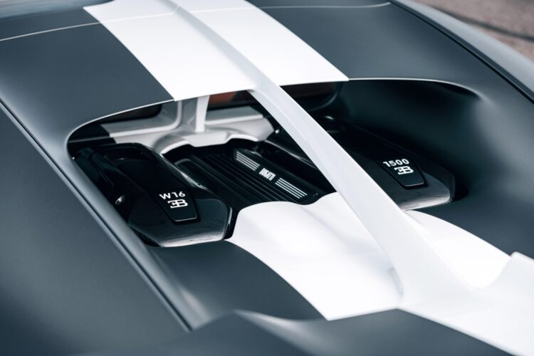 W16 engine cover