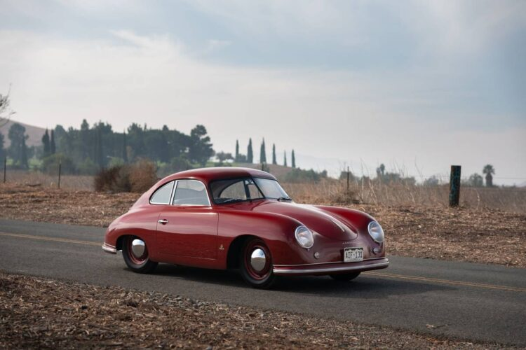 1951 Porsche 356 Coupe by Reutter