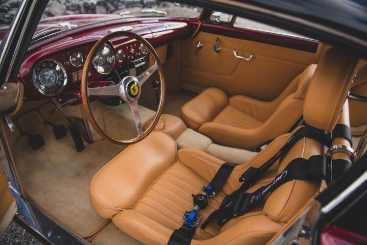 interior of 1956 Ferrari 250 GT Alloy Coupe by Boano