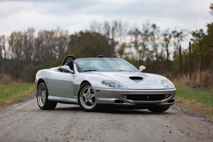 2001 Ferrari 550 Barchetta Pininfarina at 2021 RM Sotheby's Arizona Auction Preview