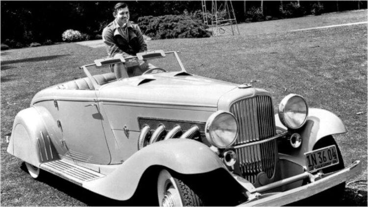 Clark Gable in Duesenberg Model J