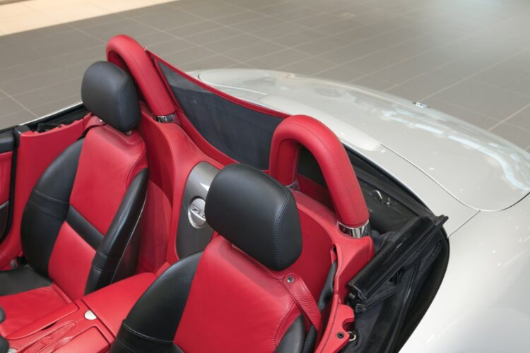 Head rests of BMW