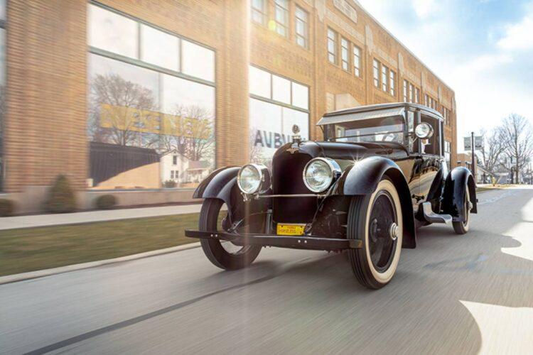 driving the Model A Duesenberg