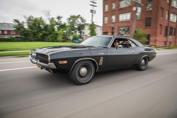 Driving the Challenger