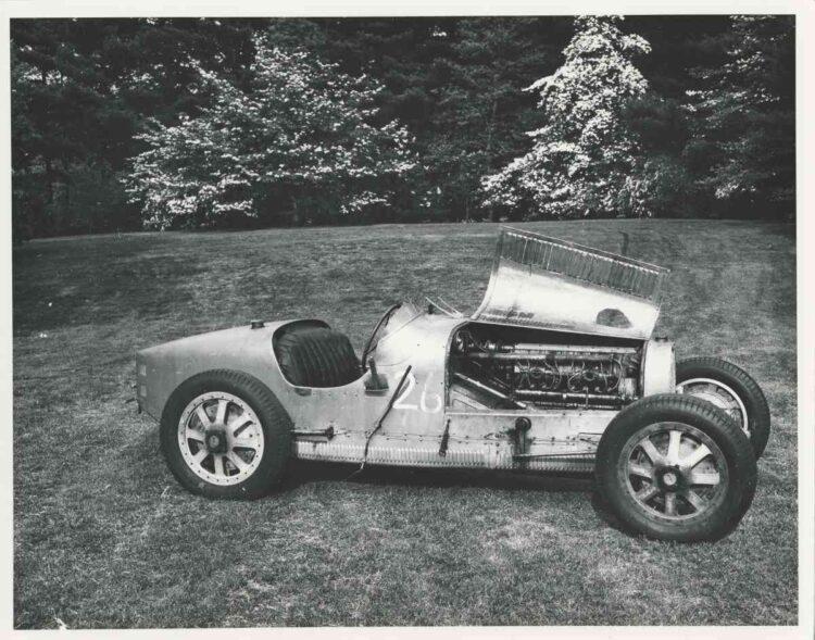 Historical photo of 1925 Bugatti Type 35