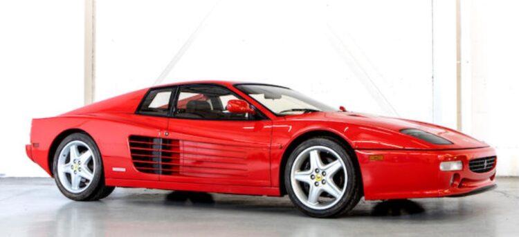 1996 Ferrari Testerossa 512M Coupe