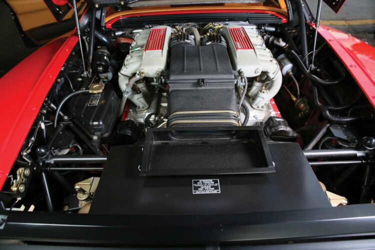 Engine of Testarossa