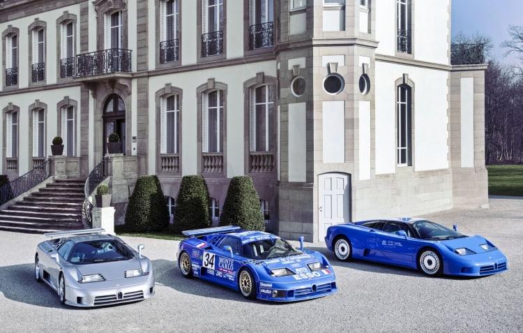 Bugatti EB110 Range