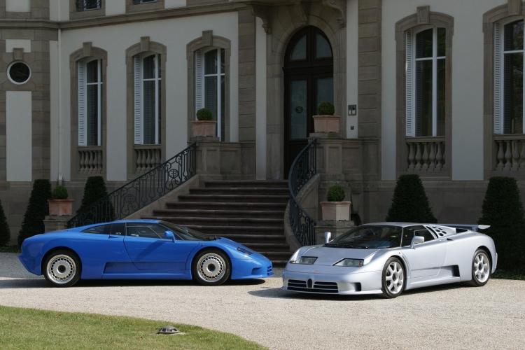 Bugatti EB110 and EB110 Super Sport