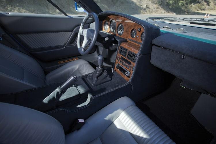 interior of Bugatti EB110