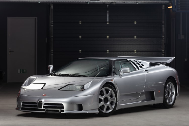 Bugatti EB110 Super Sport.