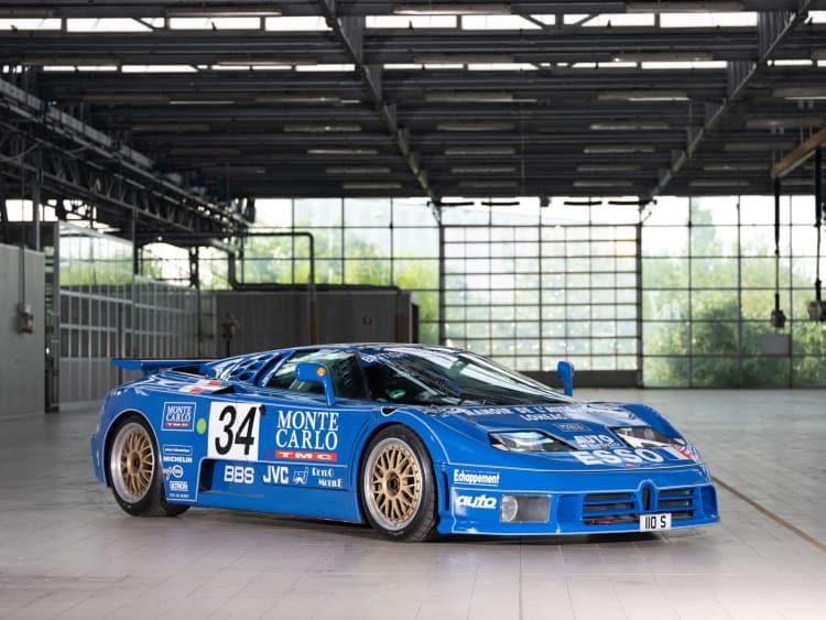 EB110 SS Racing car