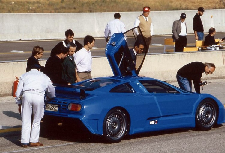 Fasst production car in 1992