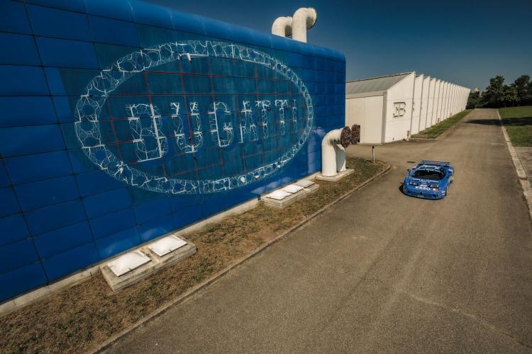 Factory of Bugatti aged