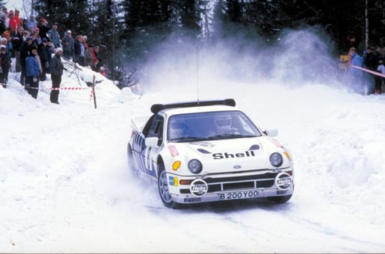 RS200 in snow