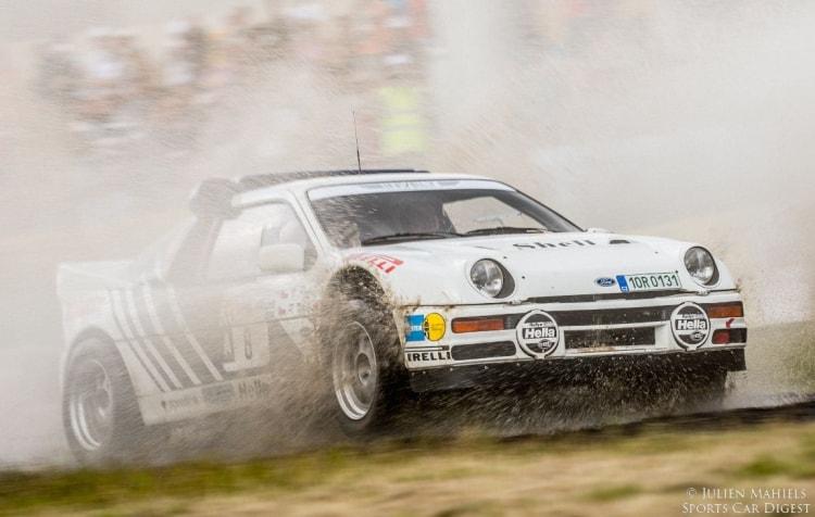 Rally racing Ford RS200