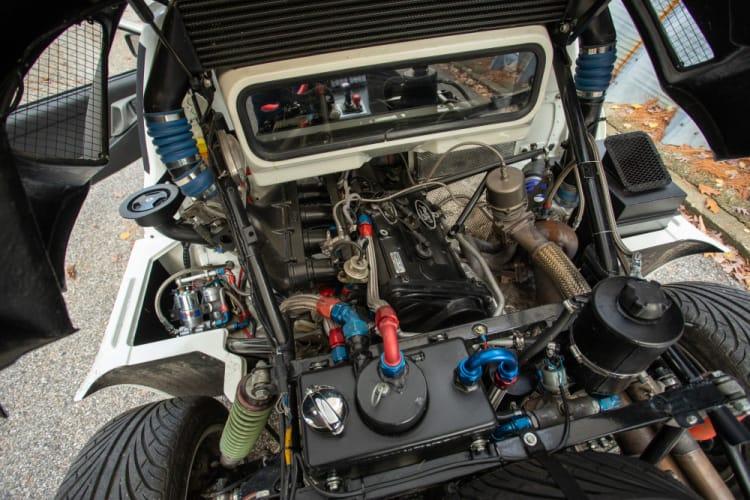 2,137cc version of the BDT engine.