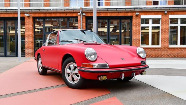 Restored 1967 Porsche 911 S Targa