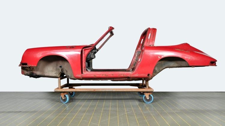 Body of 1967 Porsche 911 S Targa