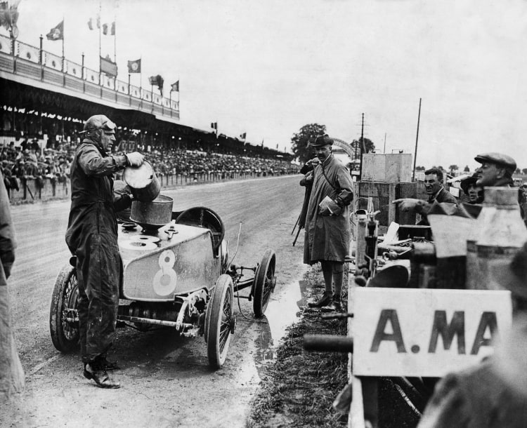 Chassis TT2 at 1922 French GP