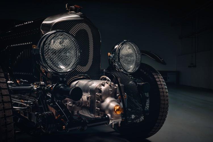 Front of Bentley Blower